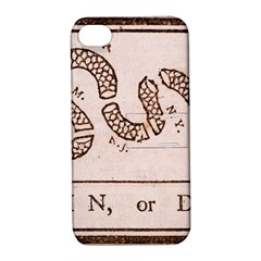 Original Design, Join Or Die, Benjamin Franklin Political Cartoon Apple Iphone 4/4s Hardshell Case With Stand