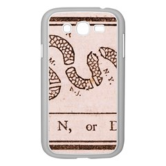 Original Design, Join Or Die, Benjamin Franklin Political Cartoon Samsung Galaxy Grand Duos I9082 Case (white)