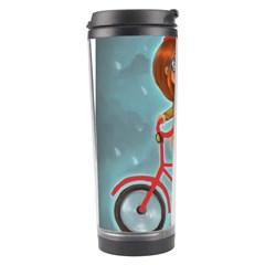 Girl On A Bike Travel Tumbler
