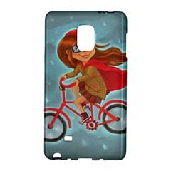 Girl On A Bike Galaxy Note Edge