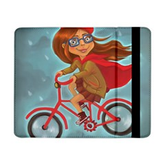 Girl On A Bike Samsung Galaxy Tab Pro 8 4  Flip Case