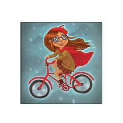 Girl On A Bike Satin Bandana Scarf