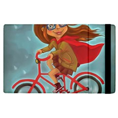 Girl On A Bike Apple Ipad Pro 9 7   Flip Case
