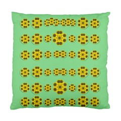 Sun Flowers For The Soul At Peace Standard Cushion Case (one Side)