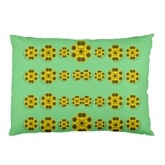 Sun Flowers For The Soul At Peace Pillow Case