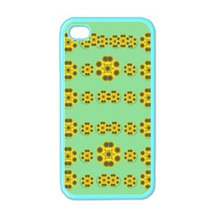 Sun Flowers For The Soul At Peace Apple Iphone 4 Case (color)