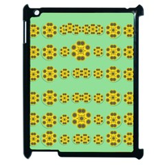 Sun Flowers For The Soul At Peace Apple Ipad 2 Case (black)