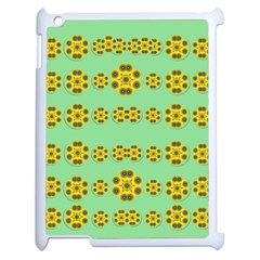 Sun Flowers For The Soul At Peace Apple Ipad 2 Case (white)