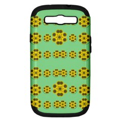 Sun Flowers For The Soul At Peace Samsung Galaxy S Iii Hardshell Case (pc+silicone)