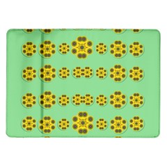 Sun Flowers For The Soul At Peace Samsung Galaxy Tab 10 1  P7500 Flip Case