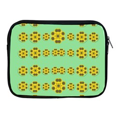 Sun Flowers For The Soul At Peace Apple Ipad 2/3/4 Zipper Cases