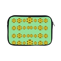 Sun Flowers For The Soul At Peace Apple Ipad Mini Zipper Cases