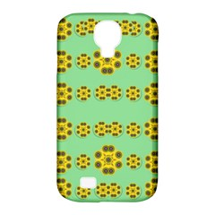 Sun Flowers For The Soul At Peace Samsung Galaxy S4 Classic Hardshell Case (pc+silicone)