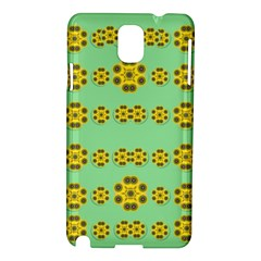 Sun Flowers For The Soul At Peace Samsung Galaxy Note 3 N9005 Hardshell Case