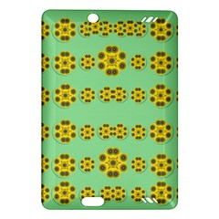 Sun Flowers For The Soul At Peace Amazon Kindle Fire Hd (2013) Hardshell Case