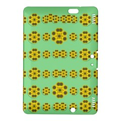 Sun Flowers For The Soul At Peace Kindle Fire Hdx 8 9  Hardshell Case