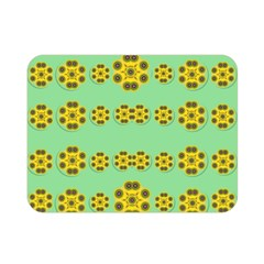 Sun Flowers For The Soul At Peace Double Sided Flano Blanket (mini)