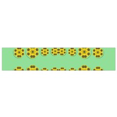 Sun Flowers For The Soul At Peace Small Flano Scarf