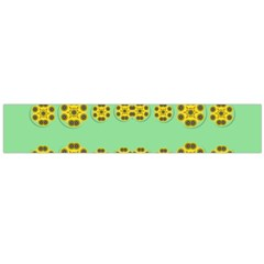 Sun Flowers For The Soul At Peace Large Flano Scarf