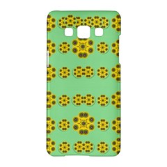 Sun Flowers For The Soul At Peace Samsung Galaxy A5 Hardshell Case