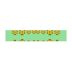Sun Flowers For The Soul At Peace Flano Scarf (mini)