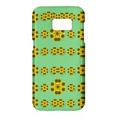 Sun Flowers For The Soul At Peace Samsung Galaxy S7 Hardshell Case
