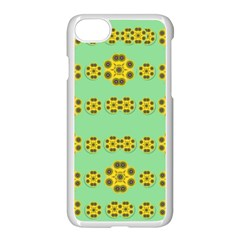 Sun Flowers For The Soul At Peace Apple Iphone 7 Seamless Case (white)