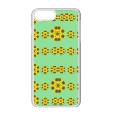 Sun Flowers For The Soul At Peace Apple Iphone 8 Plus Seamless Case (white)