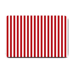 Red Stripes Small Doormat