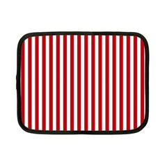 Red Stripes Netbook Case (small)
