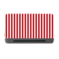 Red Stripes Memory Card Reader With Cf