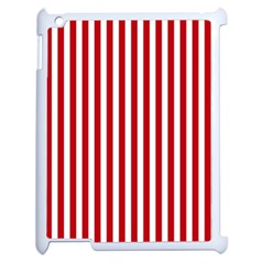 Red Stripes Apple Ipad 2 Case (white)