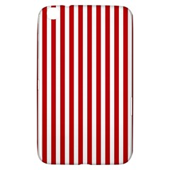 Red Stripes Samsung Galaxy Tab 3 (8 ) T3100 Hardshell Case