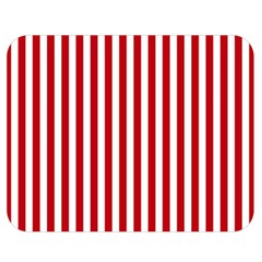 Red Stripes Double Sided Flano Blanket (medium)