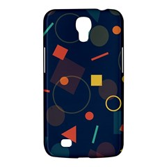 Blue Background Backdrop Geometric Samsung Galaxy Mega 6 3  I9200 Hardshell Case