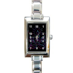 Advent Wreath Candles Advent Rectangle Italian Charm Watch