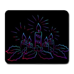 Advent Wreath Candles Advent Large Mousepads