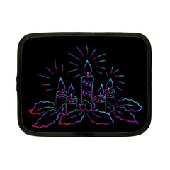 Advent Wreath Candles Advent Netbook Case (small)