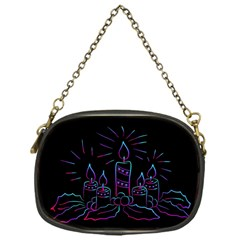 Advent Wreath Candles Advent Chain Purses (one Side)