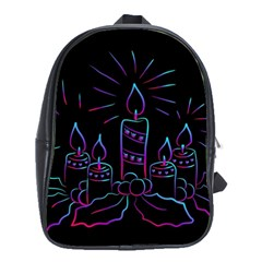 Advent Wreath Candles Advent School Bag (large)