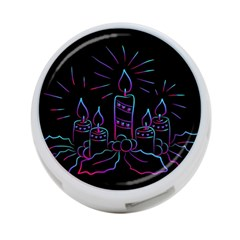 Advent Wreath Candles Advent 4 Port Usb Hub (two Sides)