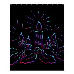 Advent Wreath Candles Advent Shower Curtain 60  X 72  (medium)