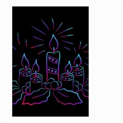 Advent Wreath Candles Advent Small Garden Flag (two Sides)