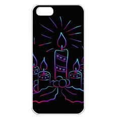 Advent Wreath Candles Advent Apple Iphone 5 Seamless Case (white)