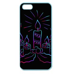 Advent Wreath Candles Advent Apple Seamless Iphone 5 Case (color)