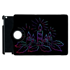 Advent Wreath Candles Advent Apple Ipad 2 Flip 360 Case