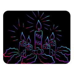 Advent Wreath Candles Advent Double Sided Flano Blanket (large)