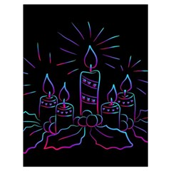 Advent Wreath Candles Advent Drawstring Bag (large)