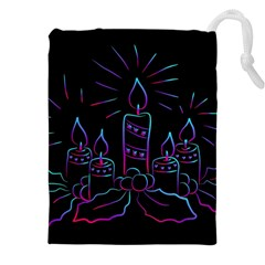 Advent Wreath Candles Advent Drawstring Pouches (xxl)