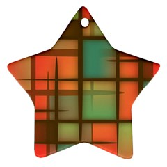 Background Abstract Colorful Ornament (star)